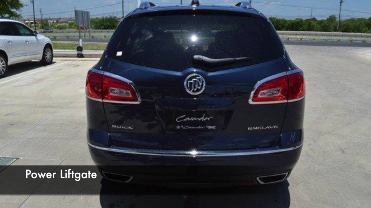 2017 buick enclave premium in san antonio cavender buick gmc west youtube. Black Bedroom Furniture Sets. Home Design Ideas