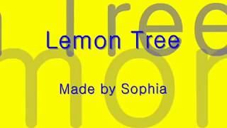 Lemon Tree B
