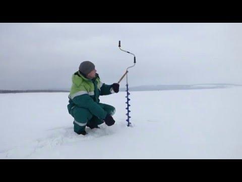 Ледобур для  начинающего  рыболова ( мой выбор )