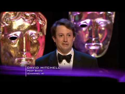 David Mitchell wins a BAFTA for Peep Show
