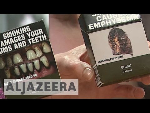 UK: New cigarette packaging aims to burn out smoking