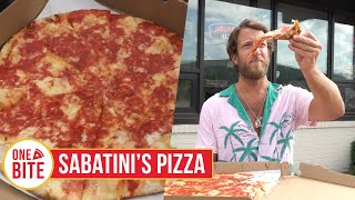 Barstool Pizza Review - Sabatini's Pizza  Exeter, Pa