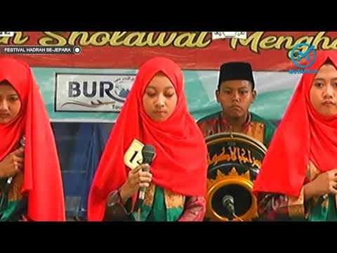 Juara 3 Festival Hadrah MA Al Haromain Tingkat SLTP Se Kabupaten Jepara 2018