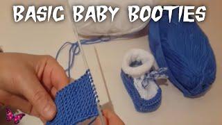 Bebek patiği nasıl yapılır? / How to crochet basic baby booties