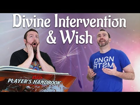Wish & Divine Intervention in 5e Dungeons & Dragons - Web DM