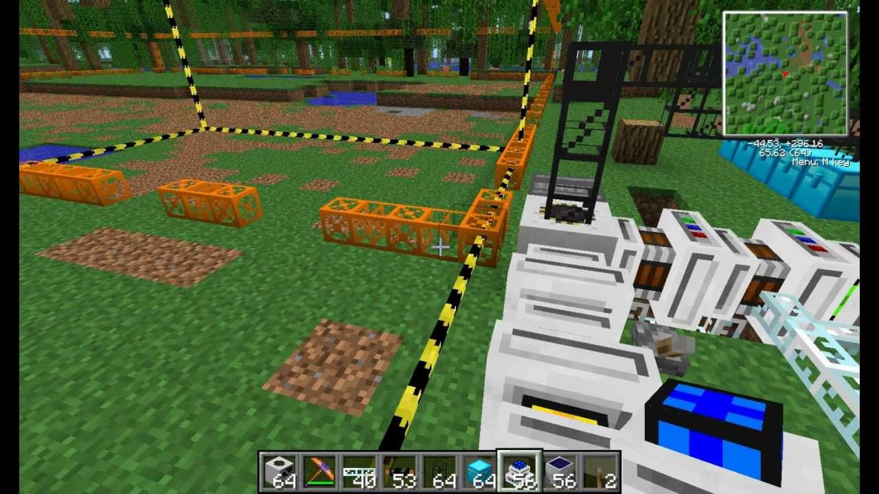 Minecraft How To Power A Quarry Feed The Beast Youtube