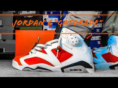 Jordan 6 Gatorade Pick up + Epic On Foot