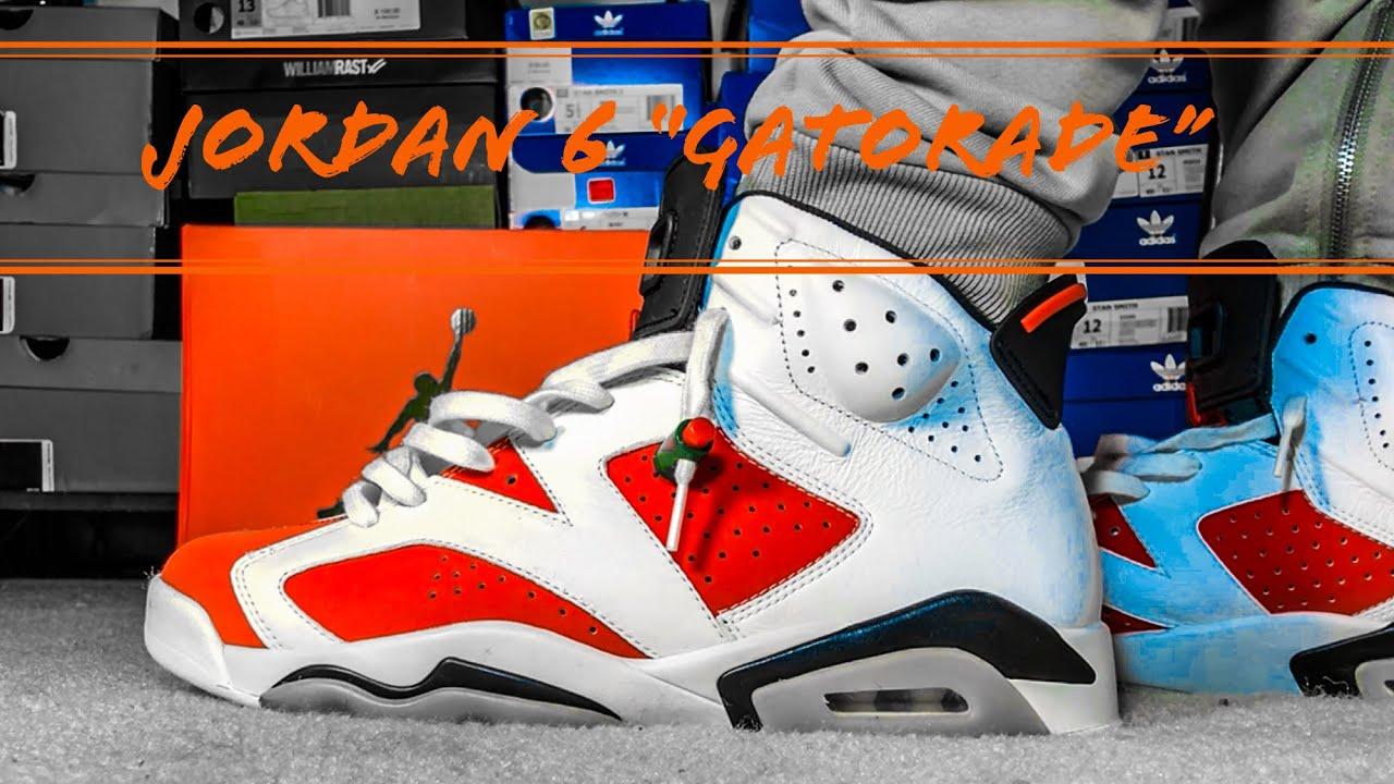 fbe25d8a963e71 ... AIR JORDAN 6  Jordan 6 Gatorade Pick up + Epic On Foot ...
