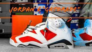 buy online 997ba 34a9b jordan 6 gatorade on feet videos, jordan 6 gatorade on feet ...