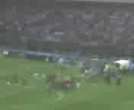 Addio al calcio di Costacurta - giro di campo