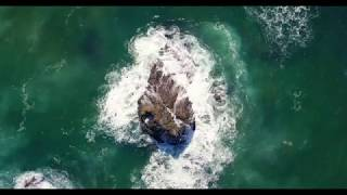 Scenic Oceans Drone footage 4K