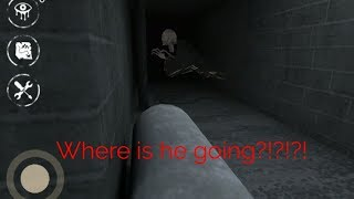 I found a new glitch again!!!in Eyes The Horror Game(Mansion Map)Version:5.2.19