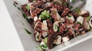Octopus Salad Recipe - Laura Vitale - Laura In The Kitchen Episode 267