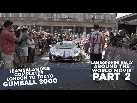 "PART 2 - TeamSalamone ""Rally Around The World In Chrome Lamborghini"""