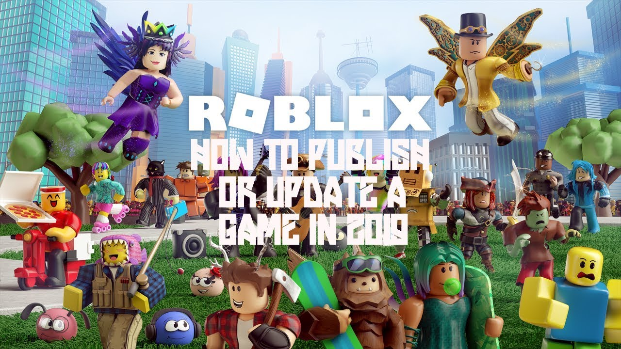 how to publish a roblox game 2019
