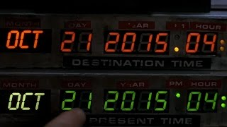 9/11 BACK TO THE FUTURE DAY AND OCTOBER 15 2015