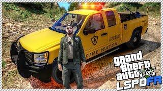 GTA 5 LSPDFR #10 | Fire Watch Park Ranger Stopping Wild Fires