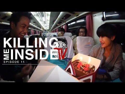 Killing Me Inside TV: Celebrate Onadio Leonardo Birthday on Train (Episode 11)