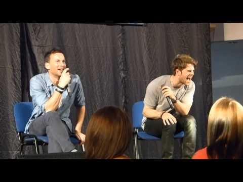 Nathaniel Buzolic & Craig Parker at VampiCon  funny moments