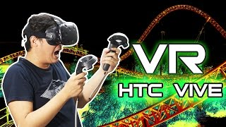 #19 Virtual Reality HTC VIVE Setup & Game (review ulasan unboxing Indonesia)