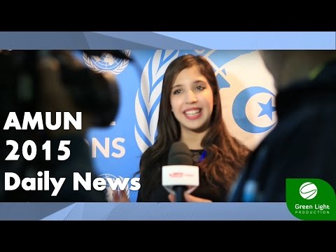 ALGERIA MODEL UNITED NATIONS 2015 - Daily News Bulletin 28.12.2015