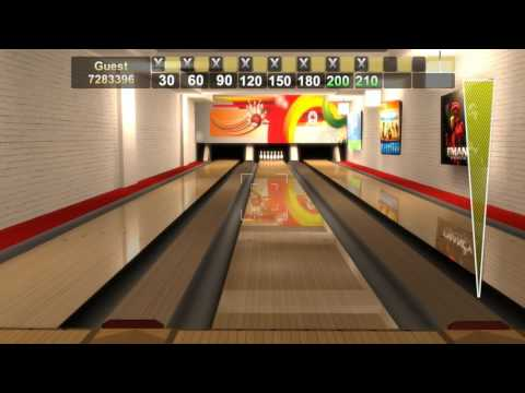 Unity 3D Bowling by Sadetta - 300 Game