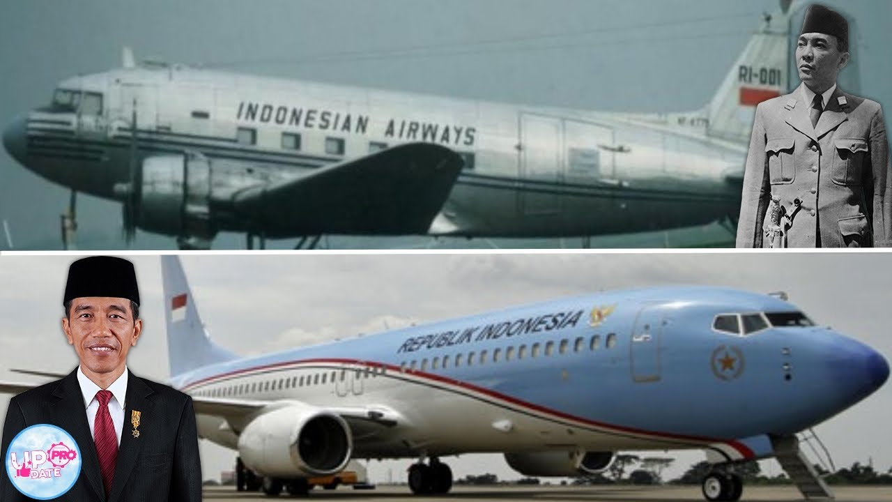 Sejarahnya Panjang! Intip Pesawat Presiden Republik ...