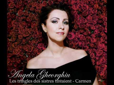 Les tringles des sistres tintaient (Chanson Boheme) - Angela Gheorghiu