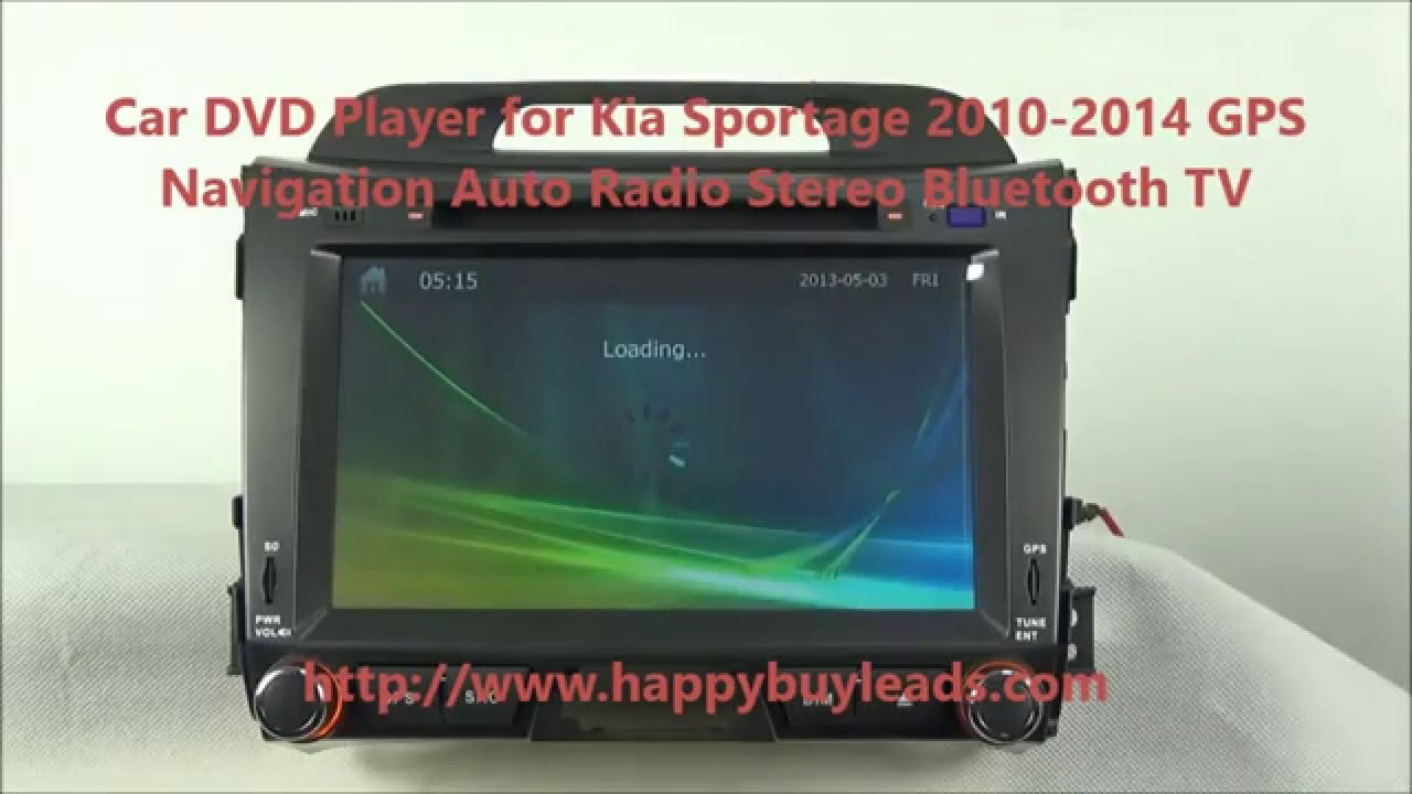 Kia Sportage Car Audio System Dvd Gps Navigation Stereo Bluetooth Tv