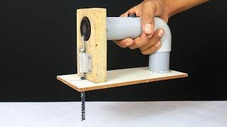 How to make Powerful Jigsaw Machine from DC Motor