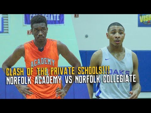 CLASH OF THE PRIVATE SCHOOLS: NORFOLK ACADEMY VS NORFOLK COLLEGIATE
