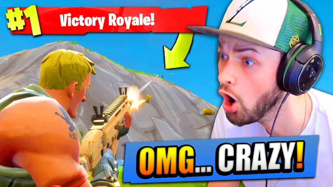 The Craziest Ending Ever Fortnite Battle Royale Youtube