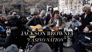 Jackson Browne – Casino Nation – with Dawes at Zuccotti Park