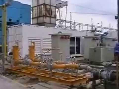 PLTG Teluk Lembu 12 MW Pekanbaru Riau by PT Trifika Bina Engineering