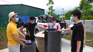 Giao loa kéo cho anh Nhuệ ở Lương Sơn, Hòa Bình