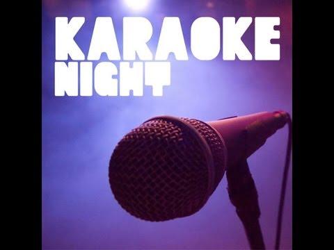 8th grade Family Group - Karaoke Night