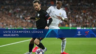 UEFA Champions League | Real Madrid v Manchester City | Highlights
