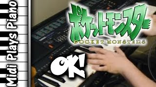 piano ok 3rd opening pocket monsters