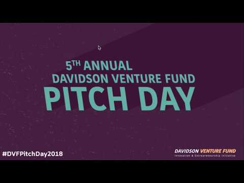 2018 Davidson Venture Fund Pitch Competition