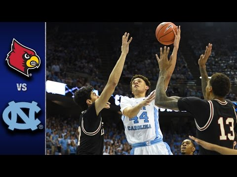 Louisville vs. North Carolina Men's Basketball Highlight's (2016-17)
