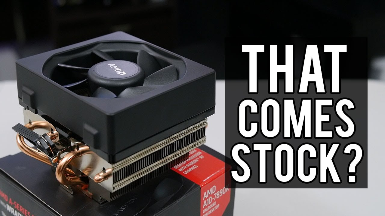 Amd S New Wraith Cooler Vs Old Stock Cooler Youtube