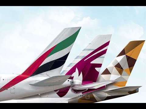 Top 10 Airlines in Middle East 2016