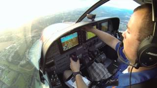 Cessna Caravan Flying