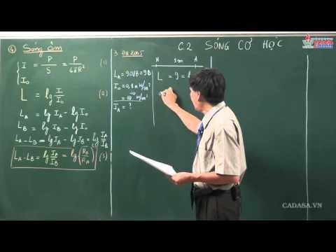 Ôn tập vật lý 12 - Sóng cơ học - Sóng âm - Cadasa.vn
