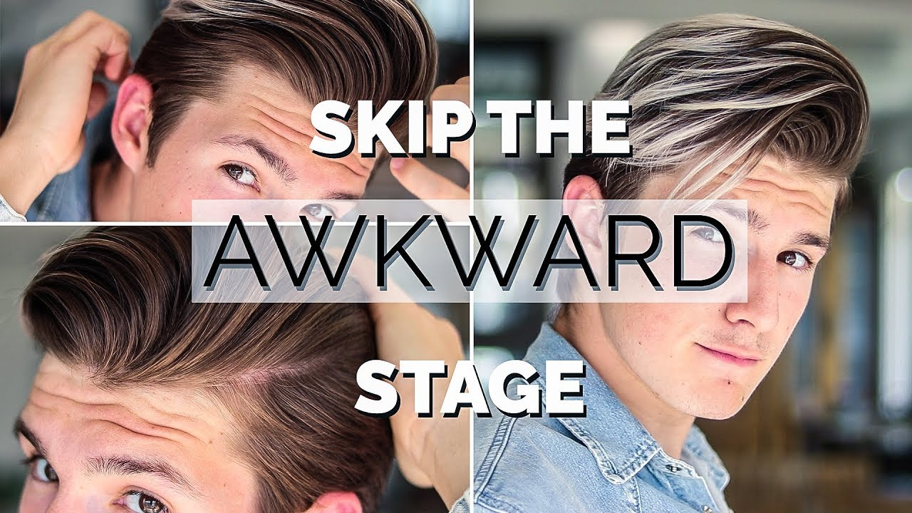 how to style hair while growing it out how to style your hair while growing it hairstyle 8136