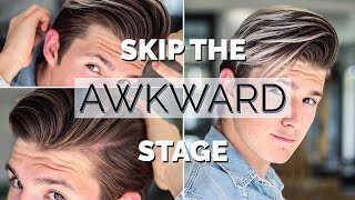 How to Style Your Hair While Growing it | Men Hairstyle tutorial 2018