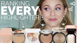 Ranking EVERY Highlighter I own from BEST to WORST!