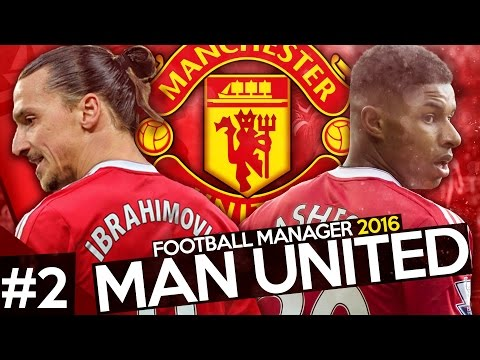 Manchester United Career Mode #2 - Football Manager 2016 Let's Play - LIVERPOOL & CHELSEA!!