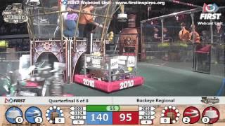 Quarterfinal 6 - 2017 Buckeye Regional