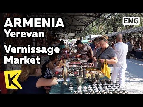 【K】Armenia Travel-Yerevan[아르메니아 여행-예레반]베르니사즈 벼룩 시장/Vernissage Market/Flea market